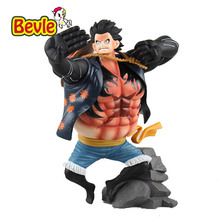 Bevle One Piece Monkey D Luffy Model Kit 17cm PVC Action Figure Japanese Anime Collection Decoration