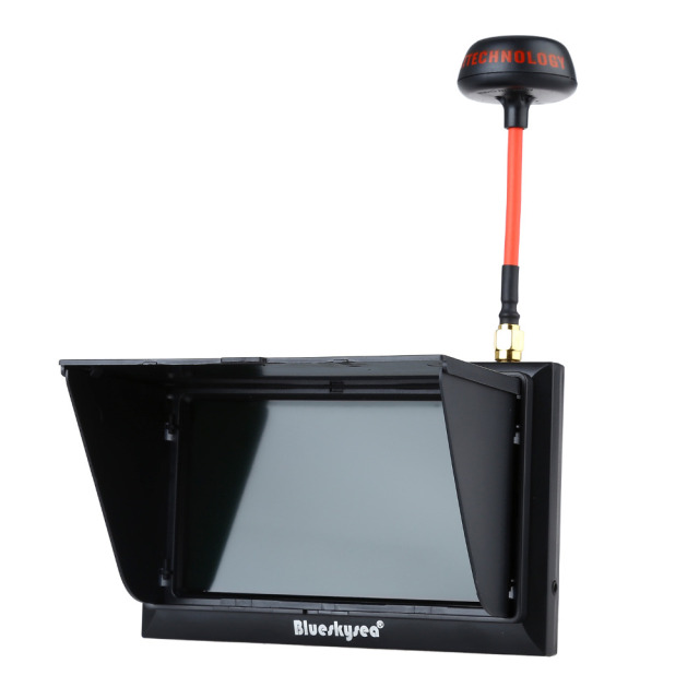 "Blueskysea FX-F408 4.3"" LCD 5.8G 32Ch FPV Monitor 2-In-1 Wireless Receiver Black/W For FPV Multicopter RC Quadcopter Part"
