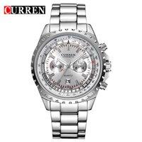 Curren Watches Men Quartz Watch Relogio Masculino Luxury Military Wristwatches Fashion Casual Clock Army Sport Hours