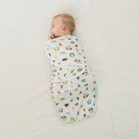 Diapers Swaddleme Summer Organic Cotton Infant Parisarc Newborn Thin Baby Wrap Swaddlers Sleep Bag
