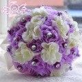Романтические Свадебные Украшения Букет свадебные Цветы Свадебные Букеты Свадебные Аксессуары Buque Де Noiva D358
