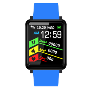 Image 4 - Bluetooth Smart Watch Fitness Band Sports Bracelet Blood Pressure Pedometer F1 For Xiaomi Android iOS Free shipping