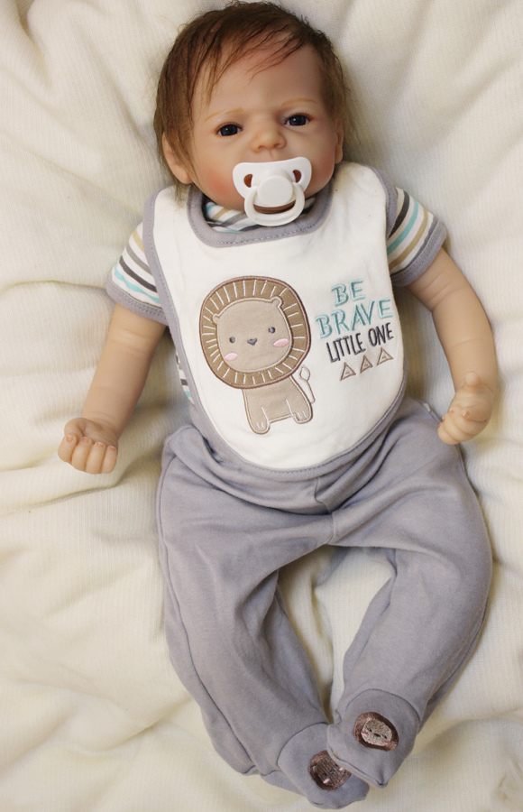 22 Baby Growth Partners Brinquedos Doll Reborn Boy For Adoption Simulation Play House  Realistic Doll-Reborn partners cd