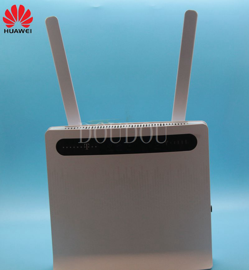 Unlocked Huawei B593 B593u-12 Plus Antenna 4G LTE 100Mbps CPE Router with Sim CardSlot 4G LTE WiFi Router with 4 Lan Port PKB310 huawei b593 lte cpe 4g router with sim card slot b593u 12 dual 35dbi antenna 3g