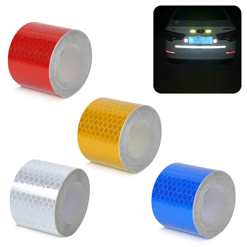 3m*5cm Reflective Strips Car Stickers Car-styling Motorcycle Decoration Automobiles Safety Warning Mark Tapes DXY88 build power li polymer lipo battery 7 4v 1100mah 1300mah 1500mah 1800mah 2200mah 2600mah max 40c for rc car boat quadcopter fpv