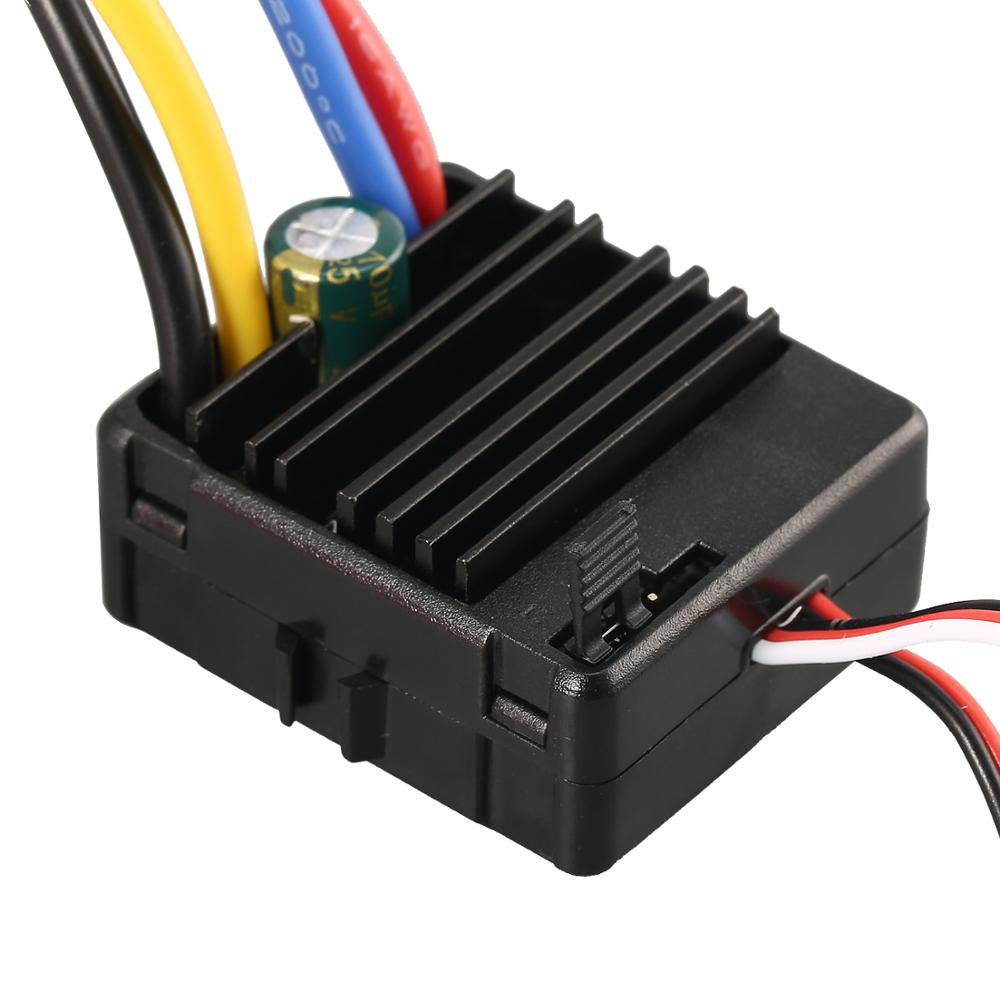 Image 5 - 60A Brushed ESC with 5V/2A BEC Tamiya Plug for HSP HPI Kyosho TRAXXAS 1/10 RC Crawler Off road Climbing Car-in Parts & Accessories from Toys & Hobbies
