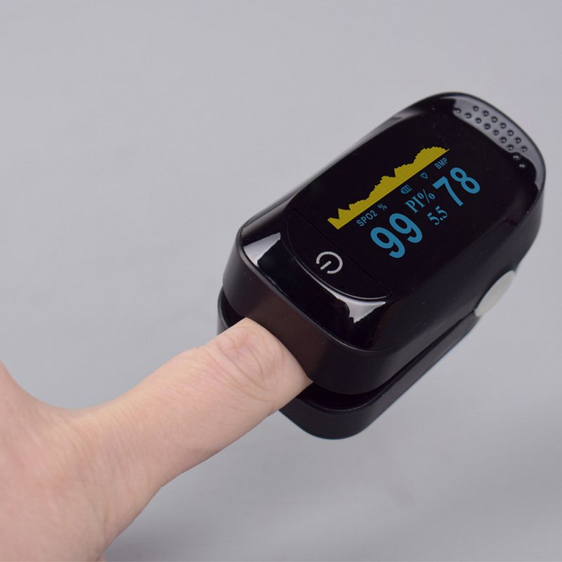 Blood Oximeter Pressure Meter Digital Finger Pulse 6LCD Modes Portable Heart Rate Monitor Low Power Fingertip Oximeter TesterBlood Oximeter Pressure Meter Digital Finger Pulse 6LCD Modes Portable Heart Rate Monitor Low Power Fingertip Oximeter Tester