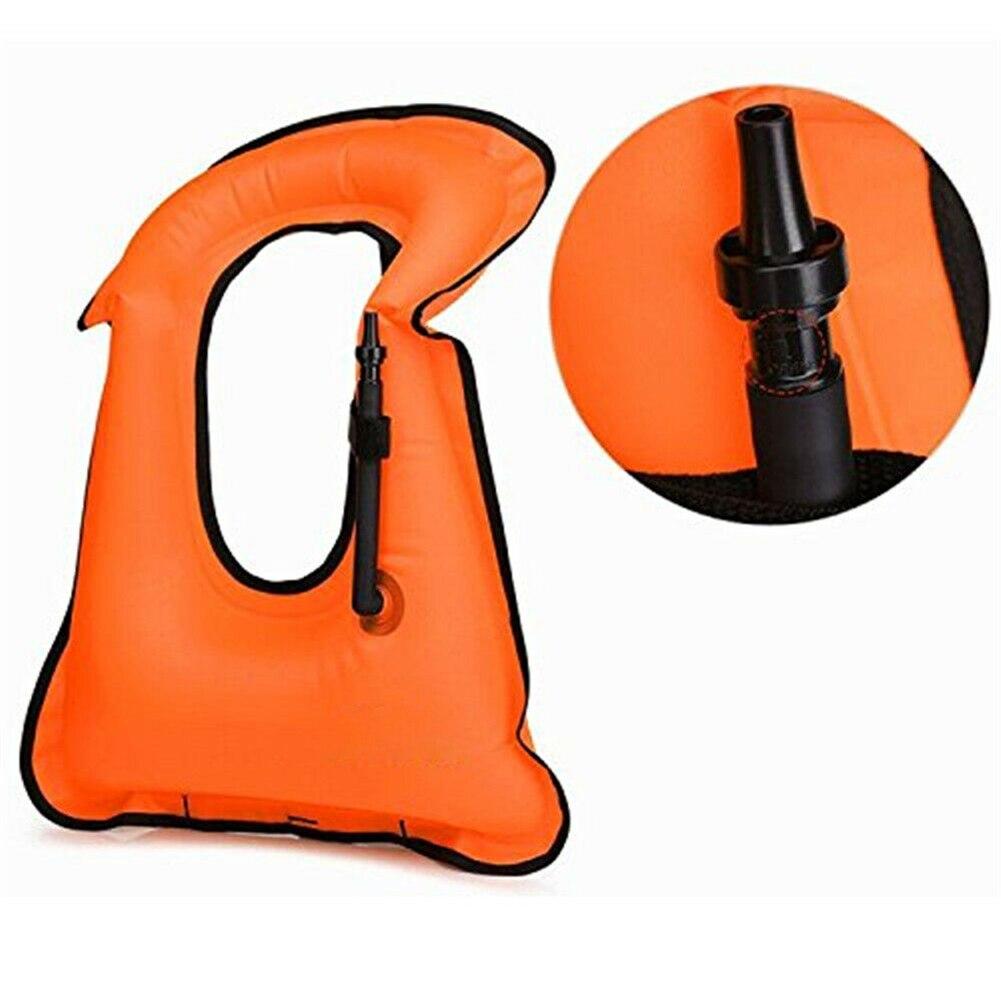 Надувной плавательный жилет спасательный жилет для сноркелинга плавающее устройство для плавания дрейфующий серфинг водный спорт спасате...