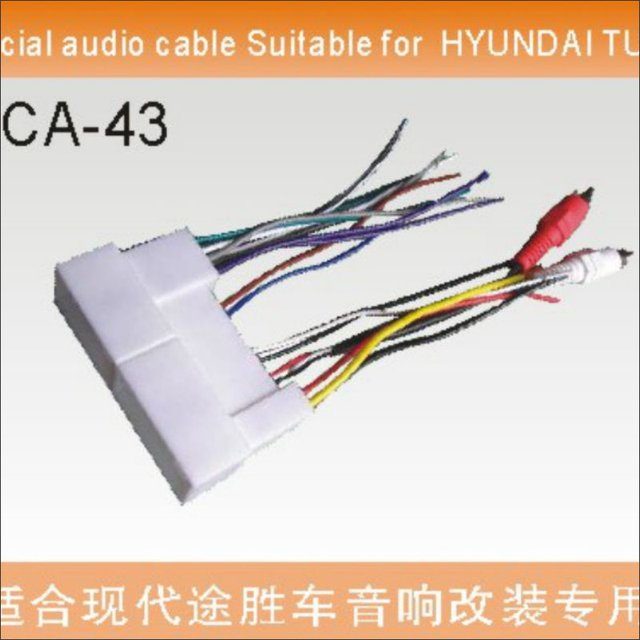 Plugs Into Factory Harness For HYUNDAI Tucson Radio Power Wire