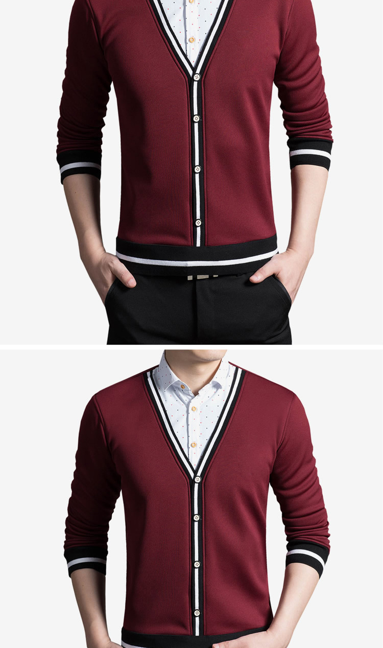New Winter Style Men Boutique Cashmere Long Sleeve Shirts Fashion Casual Men's Solid Slim Warm False Two Pieces Shirt Size M-4XL