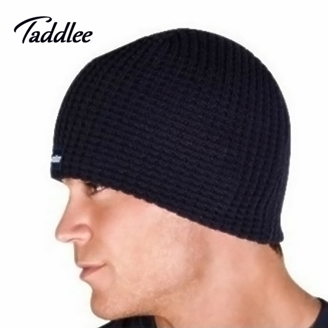 Taddlee Brand Fashion Mens winter cap Set of head cap Man hat keep warm  protecting hats brand Man beanie fall hats men 5058ca6290f