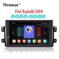 9'' 2din Car Radio Player for Suzuki SX4 2006 2016 Mirrorlink Android Bluetooth Car Multimedia MP5 Player 2DIN Stereo Autoradio
