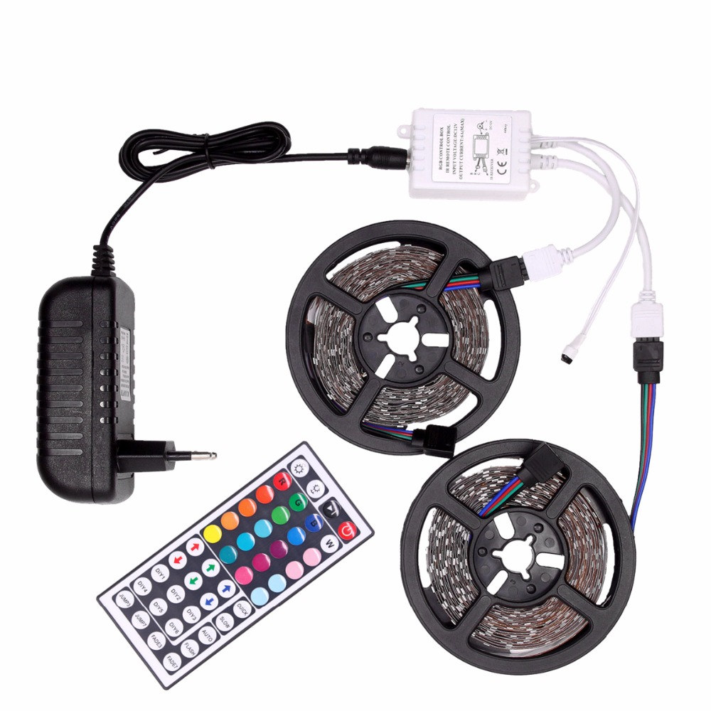 rgb-led-strip-waterproof-5050-dc12v-tira-led-light-strip-5m-10m-neon-led-flexible-tape-ledstrip-with-controller-and-12v-adapter