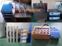 40khz/80khz/100khz 1000W Multi Frequency immersible ultrasonic transducers