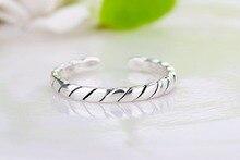 Новый широкий серебряный Цвет Многослойные Полые Кольца для женщин Модный стека кольцо jewelry женский перстень