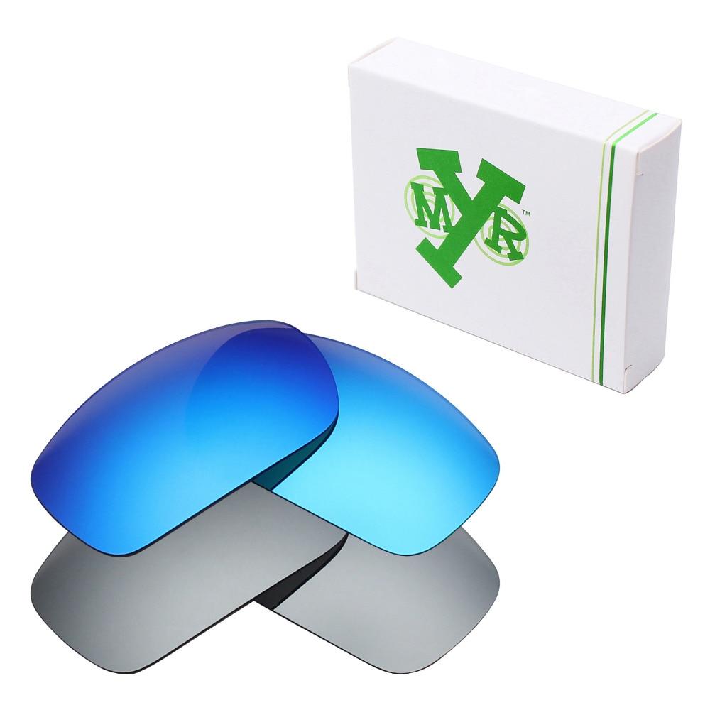 8a6b759a46 2 pares de lentes de repuesto polarizadas Mryok para gafas de sol de color  azul hielo