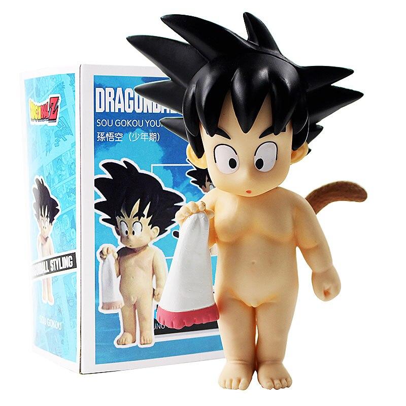 Dragon Ball Z Son Gokou Young Ver Bathe Goku PVC Figure New No Box