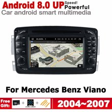 2 Din Car Multimedia Player For Mercedes Benz Viano 2004~2007 NTG Android Radio GPS Navigation Stereo Autoaudio Car DVD Player цена