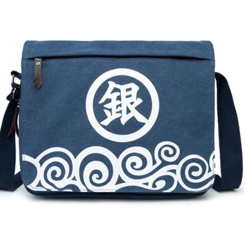 Naruto Totoro Jin Tama Messenger Crossbody Tasche Für Kinder Leinwand Jungen Mädchen Japan Anime Cartoon Bookbag Travel Umhängetasche Zahlreich In Vielfalt Herrenbekleidung & Zubehör