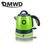DMWD, 0.8л, сплит стиль, нержавеющая сталь, нагрев, бойлер для горячей воды, электрический чайник, автоматическое отключение, чайник, нагреватель, ЕС, США, вилка