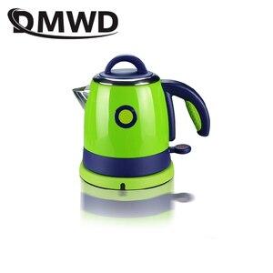 Image 2 - 긴 주둥이 입 스테인레스 스틸 난방 온수 보일러 전기 주전자 자동 전원 끄기 끓는 히터 물방울 커피 차 주전자 0.8L