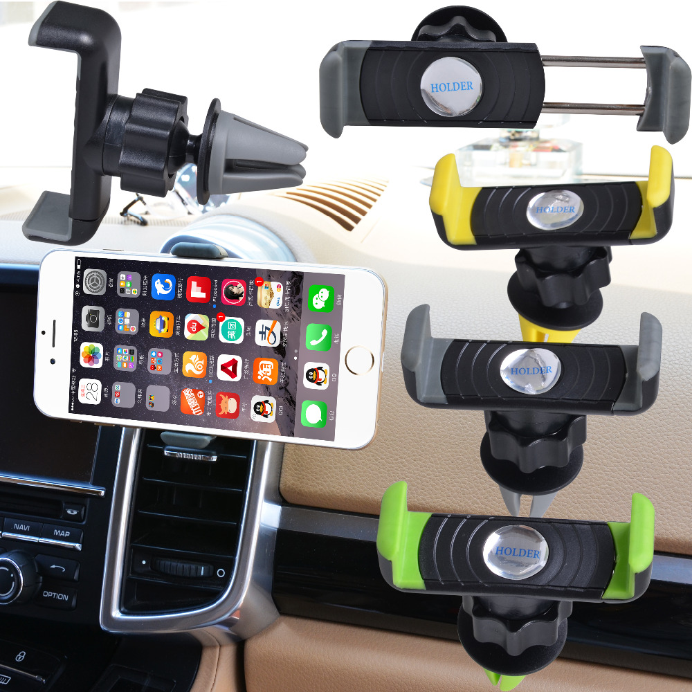 Universal Car Air Vent Cell Phone Holder In Car Mount For Your ...