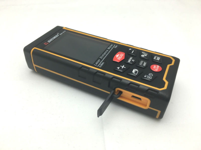 Laser Entfernungsmesser Genauigkeit : Sndway wiederaufladbare mt farbe display high präzision laser