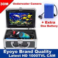 Eyoyo Original 30m Professional Fish Finder Underwater Fishing Video Camera 7 Color HD Monitor 1000TVL HD