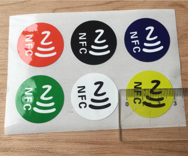 NFC Sticker NTAG215 Label NFC Sticker NTAG215 Tag For Tagmo-6pcs/lot