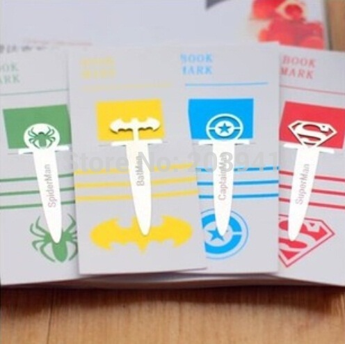 1pcs/lot  Exquisite  Stainless Steel Bookmarks Paper Sewing Garment Tags
