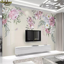 beibehang floral wallpapers for living room modern wallpaper minimalist TV background papier peint mural 3d wall paper flooring beibehang chinese rich floral pattern gold foil paper gold living room bedroom tv background works wallpaper 3d flooring