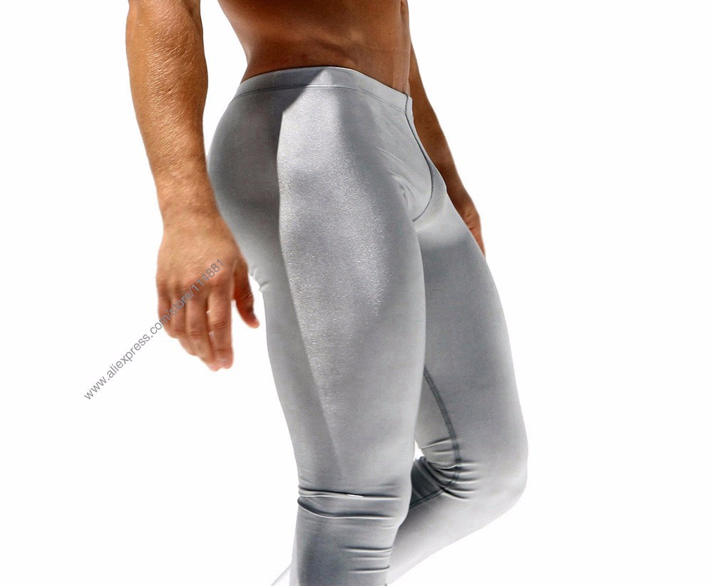 New 2016 Men\'s Sexy Tight Pants Fashion Casual Slim Fitted Sweatpants Elastic Active Crossfit Pro Workout Pants for Men (10)