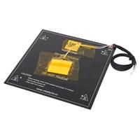 Factory Supply Ender 3 Heated Bed Frame 3D Printer Hotbed For 3D Printer Parts Black Aluminum Heatbed For Ender 3