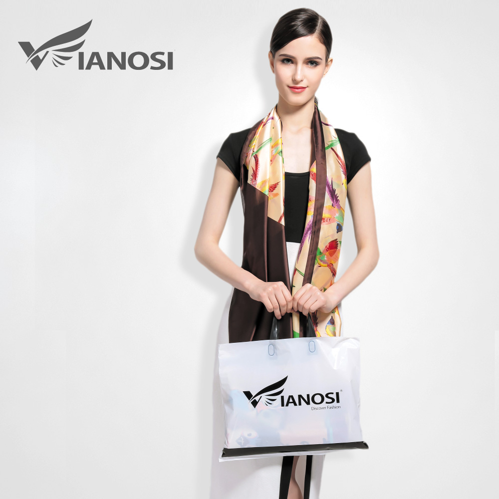 VIANOSI  Fashion Stole Long Print Poncho Silk Scarf Top Quality Birds  Pattern Shawl Woman Party Spain Scarves Luxury VA015-in Women s Scarves  from Apparel ... 130019035e5