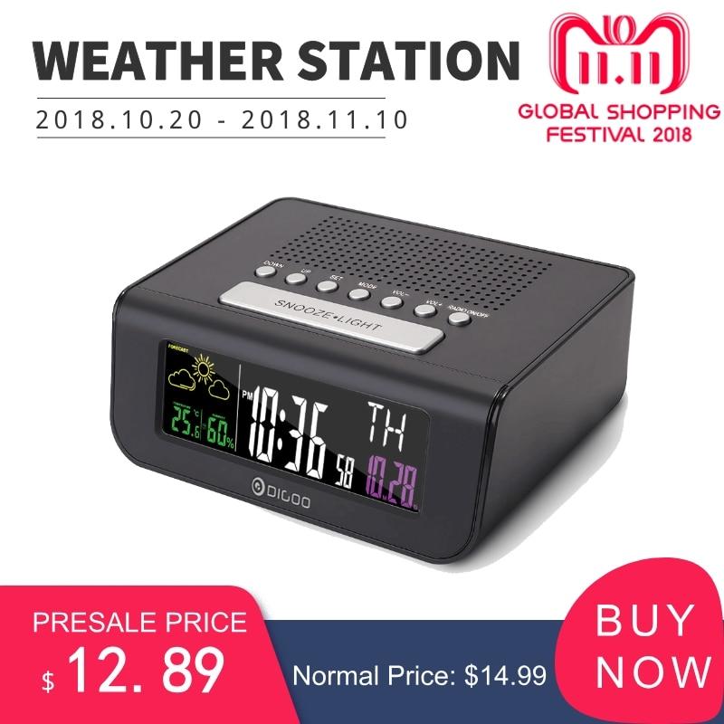 Mutifunctional, Radio, Digital, Digoo, Forecast, With