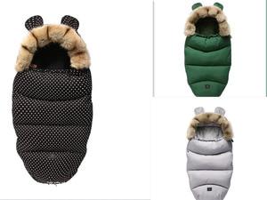 Image 5 - Зимний спальный мешок для детской коляски Yoya Plus Yoyo Vovo, зимние теплые спальные мешки, халат, конверты для новорожденных на коляску