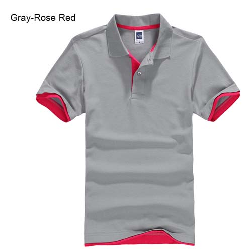 URSPORTTECH Men's Polo Shirt For Men Desiger Polos Men Cotton Short Sleeve shirt Clothes jerseys golftennis Plus Size XS- XXXL 14