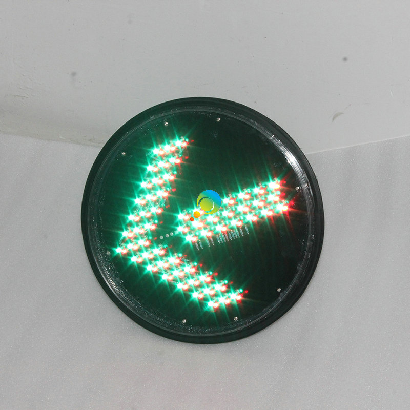 High Brightness New Design Red Green Arrow Light 300mm LED Module Traffic Light Lens