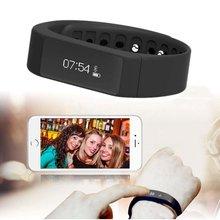 I5 más inteligente pulsera bluetooth 4.0 pantalla gimnasio rastreador muñequera salud sleep monitor de smart watch