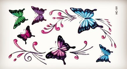 HC181- Design Fashion Temporary Tattoo Stickers Temporary Body Art Waterproof Tattoo Pattern