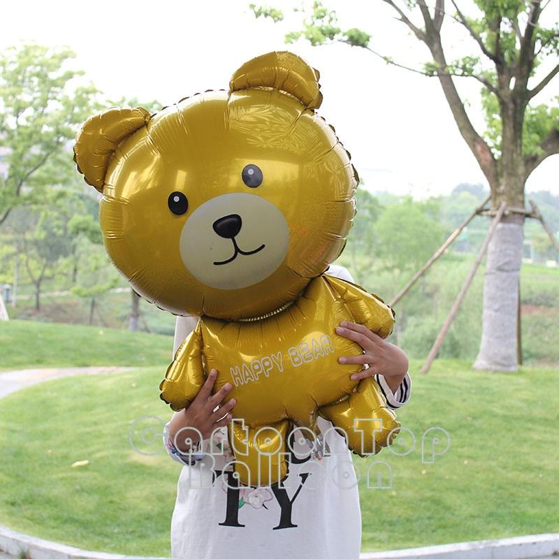 Pz lotto medio simpatico cartone animato orso palloncini happy