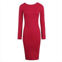 Young17 осеннее платье Для женщин 2018 вязаный Черный, серый цвет Бургундия спинки Кружево-Up выдалбливают до колена Длина платье Bodycon платье