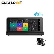 DealCoo 7′ 4 г Видеорегистраторы для автомобилей Регистраторы Камера ADAS GPS навигатор дистанционного Мониторы Smart Android 5.1 Bluetooth Двойной объектив 1080 P тире cam