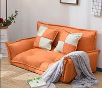 Home Adjustable Floor Sofa Chair Back Support Padded Folding Couch Multifunction Lovely Bedroom Lazy Sofa Loveseat Japan Futon