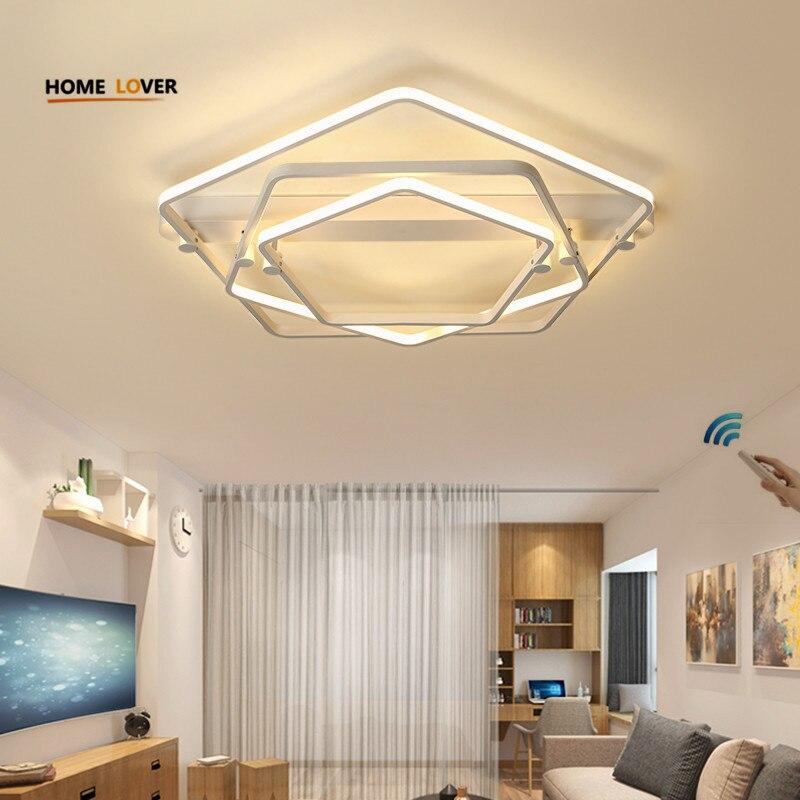 Modern ceiling lighting fixtures for living room bedroom kitchen ceiling lights indoor home for Flush mount ceiling lights living room