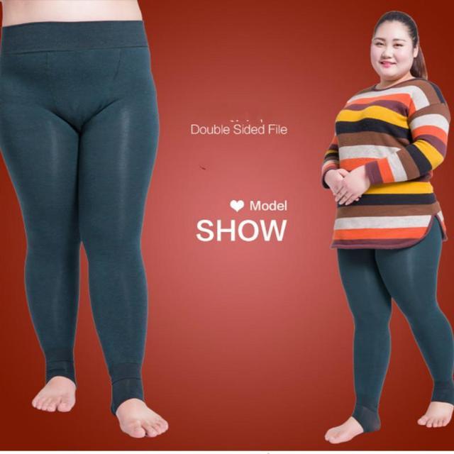 New 2017 Winter Women's Plus Cashmere Leggings Super Elastic Casual Slim Warm Leggings High-quality Leggings