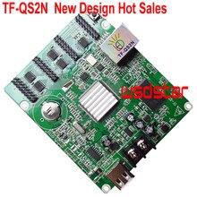 TF QS2N Full Color LED 512*64 พิกเซลสนับสนุน P4 P5 P6 P7.62 P8 P10 สี LED โมดูล 4 * HUB75E ขายร้อน