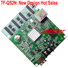 TF QS2N Full Color LED Controller 512*64 Pixels Support P4 P5 P6 P7.62 P8 P10 Full Color LED Module 4*HUB75E Hot Sales