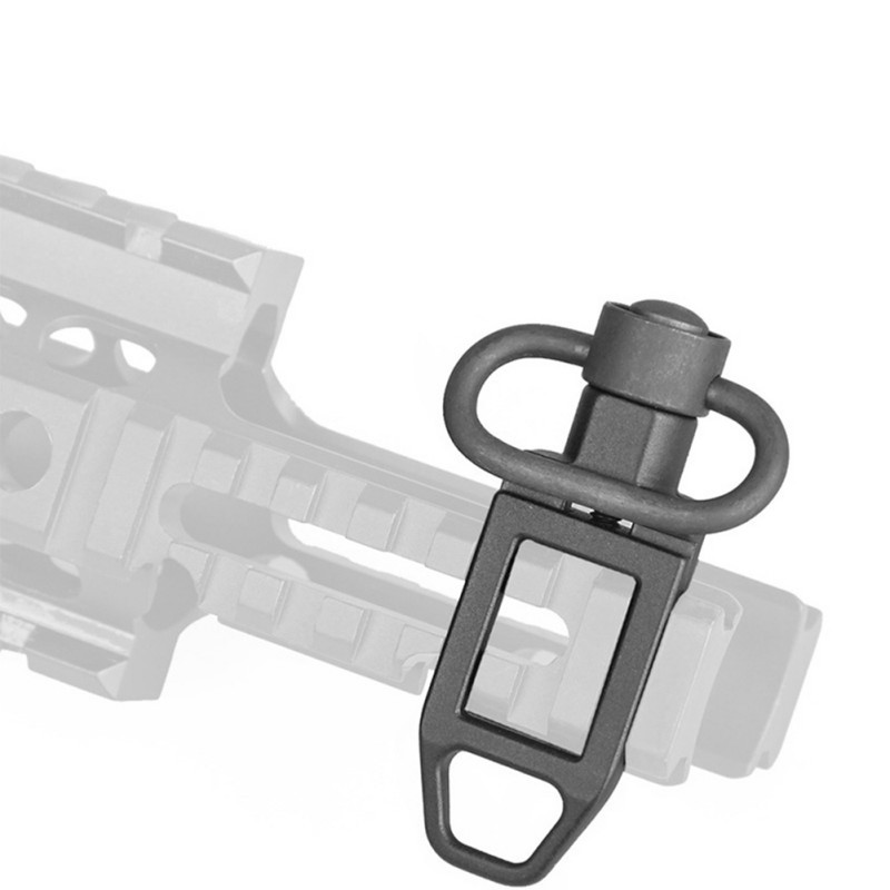 Mount-Adapter Swivel-Attachment Sling-Loop Quick-Release Tactical QD Push-Button