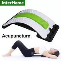 Magic Acupuncture Moxibustion Back Massage Fitness Equipment Relax Mate Stretcher Lumbar Support Spine Pain Relief Chiropractic